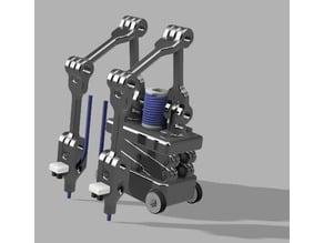 Building Print Bots - Printed Building Concept