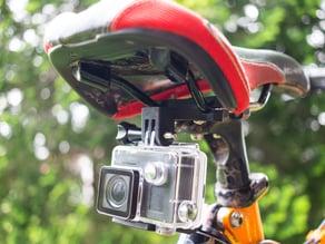 Gopro bicycle seat mount