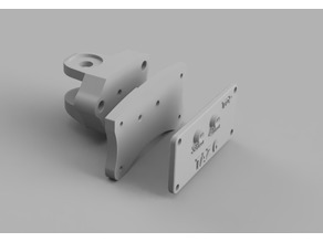 Taz 6 style Externally Accessable Y axis belt tensioner (Metric version)