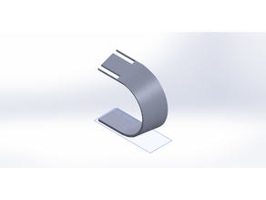 Horseshoe Curved Watch Stand