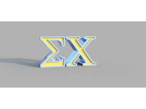 Greek Letters Sigma Chi