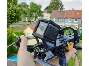 GoPro Session Mount for Reelsteady GO (XHover Stingy, TPU)