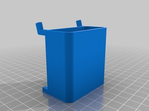 (3D Slash) Pegbox-2x2 with hole