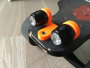 Koowheel Electric Longboard Double LED Light Mount