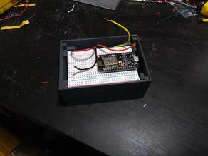 Parametric Breadboard Project Box