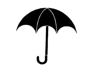 Umbrella academy logo stencil