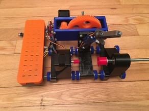 GEARED Egg bot