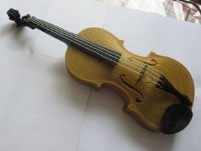 Tunnelplan Violin