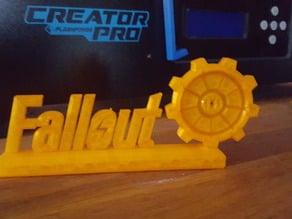 Fallout Vault 101 sign
