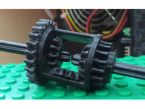 6573 Technic Differential New