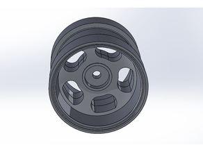 Marui Super Wheelie alternative wheelsets