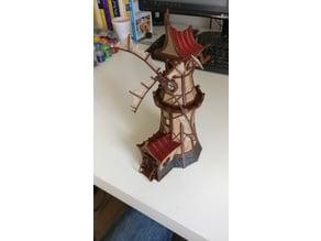 Fantasy Windmill with alternative parts