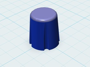 1/4 Inch Potentiometer Knob
