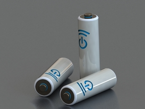 AA Battery: To Scale