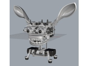 Animatronic mini Ear module