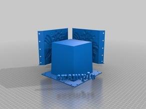 Aztec Relief Planter - Concrete Mold System