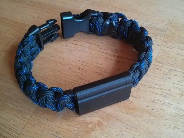 Fitbit Flex Paracord Bracelet By Scotthraban Thingiverse