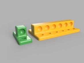 Kossel Mini Magnetic Diagonal Rod Calibration Jig