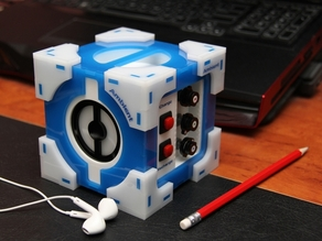 Lighted Companion Cube