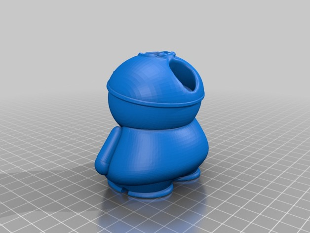 cartman ecig vape pen desktop charger holder by jaykoehler - Thingiverse
