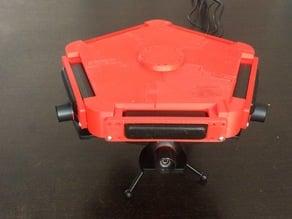 5 Playstation Eye 360° mounting