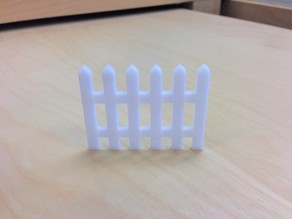 Parametric Picket Fence