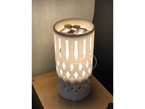 3D printed lamp ( lampara impresa en 3d )