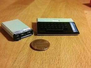 Mini Atari 800XL with Atari 1050 disk drive