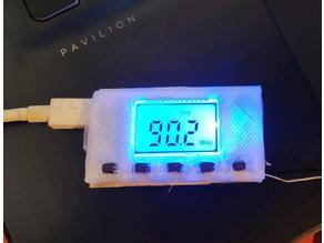Case for usb LCD FM transmitter