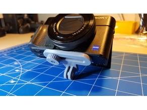 Offset Camera to GoPro mount adapter