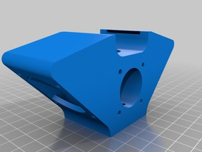 E3D V6 Hotend ( with 2 40x40 fans attached both sides )