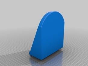 Peg Board blank CD case holder