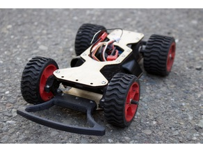 DIY RC Street Racing Car: One Week Classroom Project