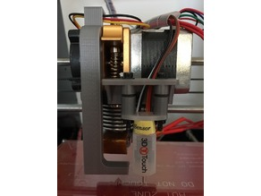 Geeetech Prusa I3 Pro B Fan Duct, 3D Touch Holder and Spacer