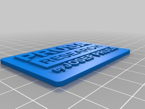 Prusa Research logo on platform (For color change)