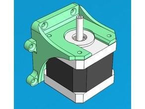 NEMA17 motor mount