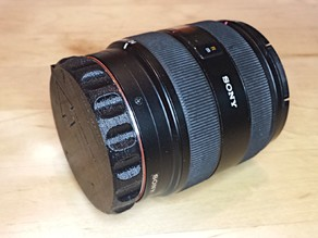 Rear Lens Cap with Bumper for Minolta/Sony A Mount