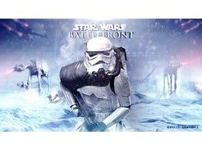 Stormtrooper Battlefront Lithophane