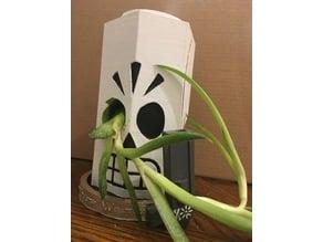 Manny Calavera Flower Pot