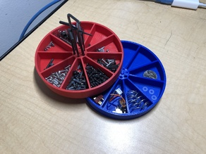 Simple Scalable Stackable Parts Dish