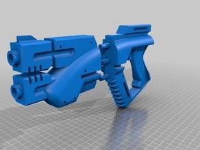 M3 Predator Pistol - Mass effect - Precut