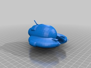Seamoth from Subnautica - 3D printable