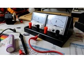 Analog meter enclosure