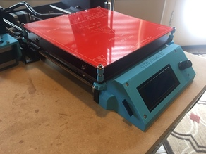 Front LCD mount for CTC Prusa i3