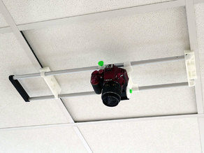 Ceiling Camera Mount for 600mm Commercial Ceilings