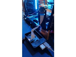 Raspberry Pi Camera 1.3 holder for Anet A8 (or any 3D printer with 8mm frame)