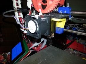 40mm J-Head v6 snap on fan mount