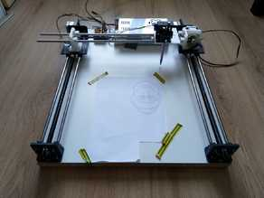 3D Printed 2D Plotter