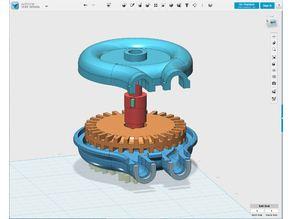 Universal Duplex Fluid pump / Air motor