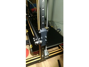 CR-10 Z-Axis linear rail mount adapter